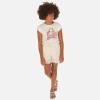 MAYORAL skladaná dievčenská sukňa 06957-021 champagne