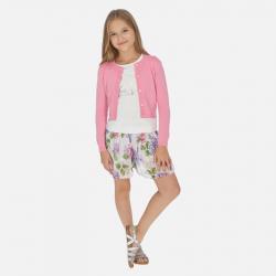 MAYORAL ľahká kvetovaná dievčenská sukňa 06954-068