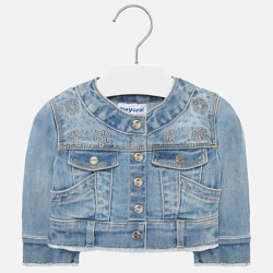 MAYORAL dievčenský riflový kabát 1471-010bleashed