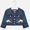 MAYORAL dievčenský riflový kabát 1471-011 dark