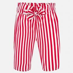 MAYORAL pásikavé dievčenské nohavice 1558-085