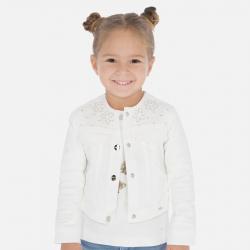 MAYORAL dievčenský kabátik s kvietkami 3466-052