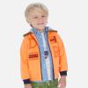 MAYORAL oranžová chlapčenská mikina 3450-51