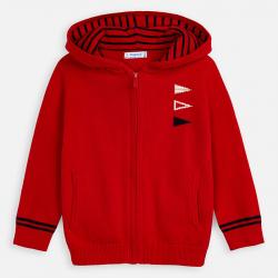MAYORAL chlapčenský sveter s kapucňou 3314-038