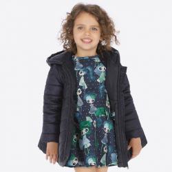 Dievčenský MAYORAL zimný kabát 4416-35 navy