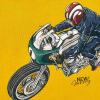 MAYORAL chlapčenská mikina s motorkou 4429-080 caramel