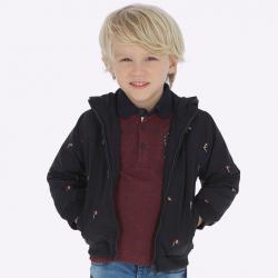 MAYORAL chlapčenská bunda na zips  4439-008 blue