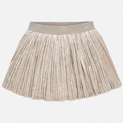 Dievčenská sukňa skladaná MAYORAL 4912-063 soil