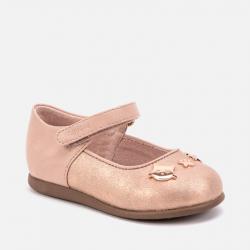 MAYORAL balerínky pre dievčatá s ozdobou 42014-026 pink