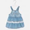 Rifľové šaty MAYORAL 1903-05 denim