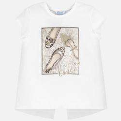 MAYORAL tričko s krátkym rukávom 011-032 natural