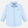 MAYORAL chlapčenská košeľa pes 2115-042 lavender