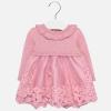 MAYORAL slávnostné dievčenské šaty 2909-088 rose