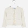 MAYORAL dievčenský kabátik ala CHANEL  3465-004 natur