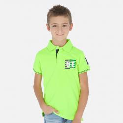 MAYORAL polokošeľa pre chlapca 06144-087 neon acid