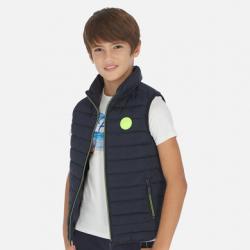 Chlapčenská  vesta s kapucňou MAYORAL 6453-048 navy