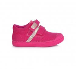 Dievčenská plátená obuv C049-544CM dark pink