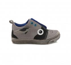 Chlapčenská plátená obuv C040-912M grey