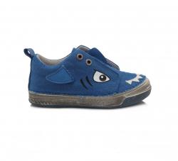 Chlapčenská plátená obuv C040-873M bermuda blue