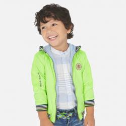 MAYORAL chlapčenský ľahký kabát 3455-027 neon