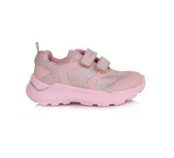 Dievčenská vodeodolná športová obuv D.D.STEP F61-703BL