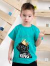 Chlapčenské tričko s krátky rukávom KING mint MM 337 king mint