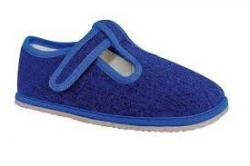 PROTETIKA chlapčenské barefoot papuče RAVEN denim