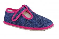 PROTETIKA dievčenské barefoot papuče RAVEN navy