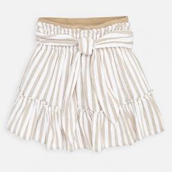 MAYORAL bielohnedá pásikavá sukňa