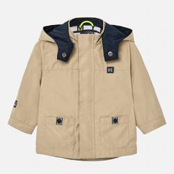MAYORAL chlapčenská parka - kabát 1463-022 béž