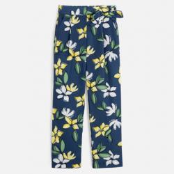 Dievčenské kvetinové MAYORAL nohavice 6533-076 navy