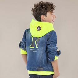 MAYORAL  chlapčenská bunda riflová 6442-05denim