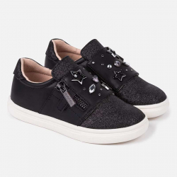 Prechodná dievčenská obuv MAYORAL 46055-039 Black