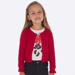 Dievčenský sveter MAYORAL 4305-059 red