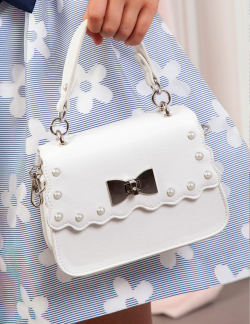 Luxusná dievčenská kabelka ABEL&LULA 5435-071 white