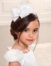 Exkluzívna čelenka s mašľou ABEL&LULA 5421-025 white