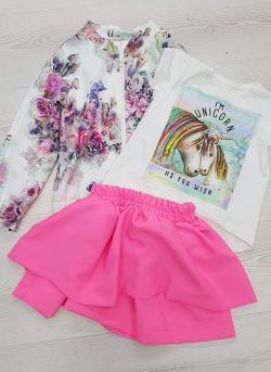 Dievčenská sukňa FUXIA