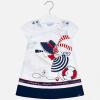 Dievčenská tunika šaty s potlačou MAYORAL 3936-010 navy