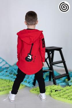 RED ROCK chlapčenská mikina s kapucňou