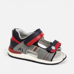 Chlapčenské sandále MAYORAL 41200-041 Gray-Red