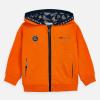MAYORAL oranžová chlapčenská mikina 3448-043