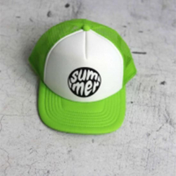Zelená chlapčenská šiltovka SUMMER