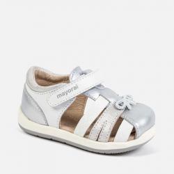 MAYORAL barefoot sandále 41126-034 White-Silv