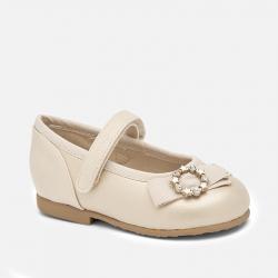 MAYORAL perleťové balerínky 41148-080 Golden