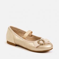 MAYORAL zlaté dievčenské balerínky 43147-080 gold