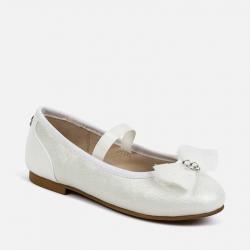 MAYORAL biele dievčenské balerínky 43149-085 wh