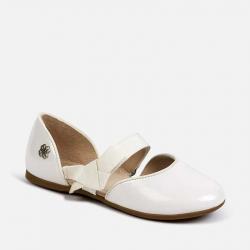 MAYORAL biele dievčenské baleríny 43153-096 white