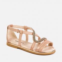 MAYORAL pink letné sandále 43169-039