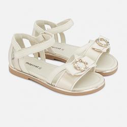 MAYORAL letné sandále 43171-043 pearl
