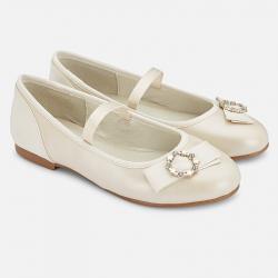 MAYORAL perleťové dievčenské balerínky 45147-081